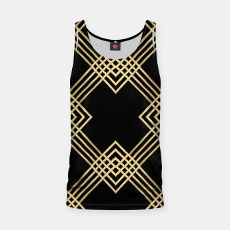 Miniature de image de Gold on Black Tank Top, Live Heroes