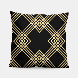 Miniature de image de Gold on Black Pillow, Live Heroes