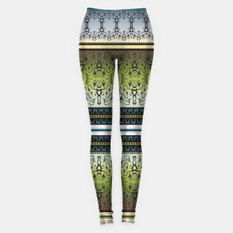Thumbnail image of Pattern1 Leggings, Live Heroes