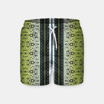 Thumbnail image of Pattern1 Swim Shorts, Live Heroes