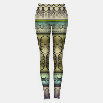 Thumbnail image of Pattern2 Leggings, Live Heroes