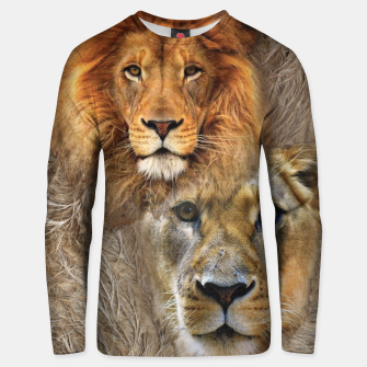 Thumbnail image of Lion King and Queen Cotton sweater, Live Heroes