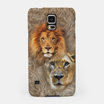 Thumbnail image of Lion King and Queen Samsung Case, Live Heroes