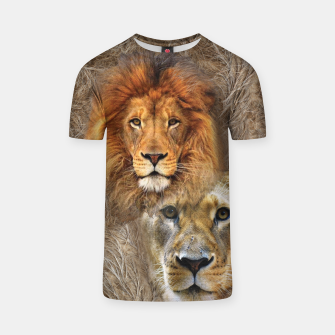Thumbnail image of Lion King and Queen T-shirt, Live Heroes