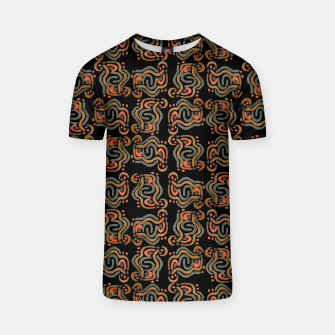 Miniaturka Graphic Ethnic Pattern Design T-shirt, Live Heroes