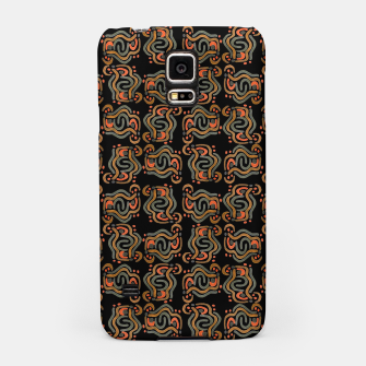 Miniatur Graphic Ethnic Pattern Design Samsung Case, Live Heroes