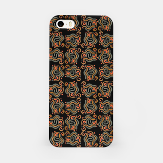 Miniatur Graphic Ethnic Pattern Design iPhone Case, Live Heroes