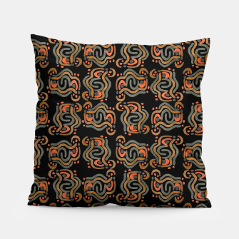 Miniaturka Graphic Ethnic Pattern Design Pillow, Live Heroes
