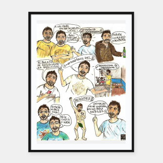 Thumbnail image of Lo Mejor de Coco..! Framed poster, Live Heroes