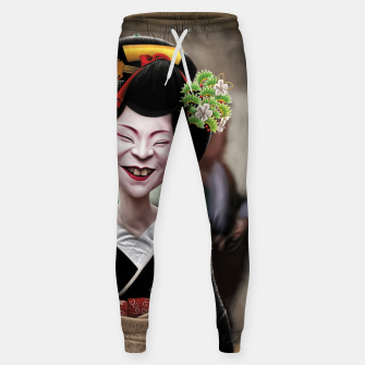 Thumbnail image of The Ugly Geisha Cotton sweatpants, Live Heroes