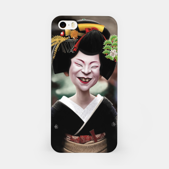Miniatur The Ugly Geisha iPhone Case, Live Heroes