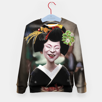Thumbnail image of The Ugly Geisha Kid's sweater, Live Heroes