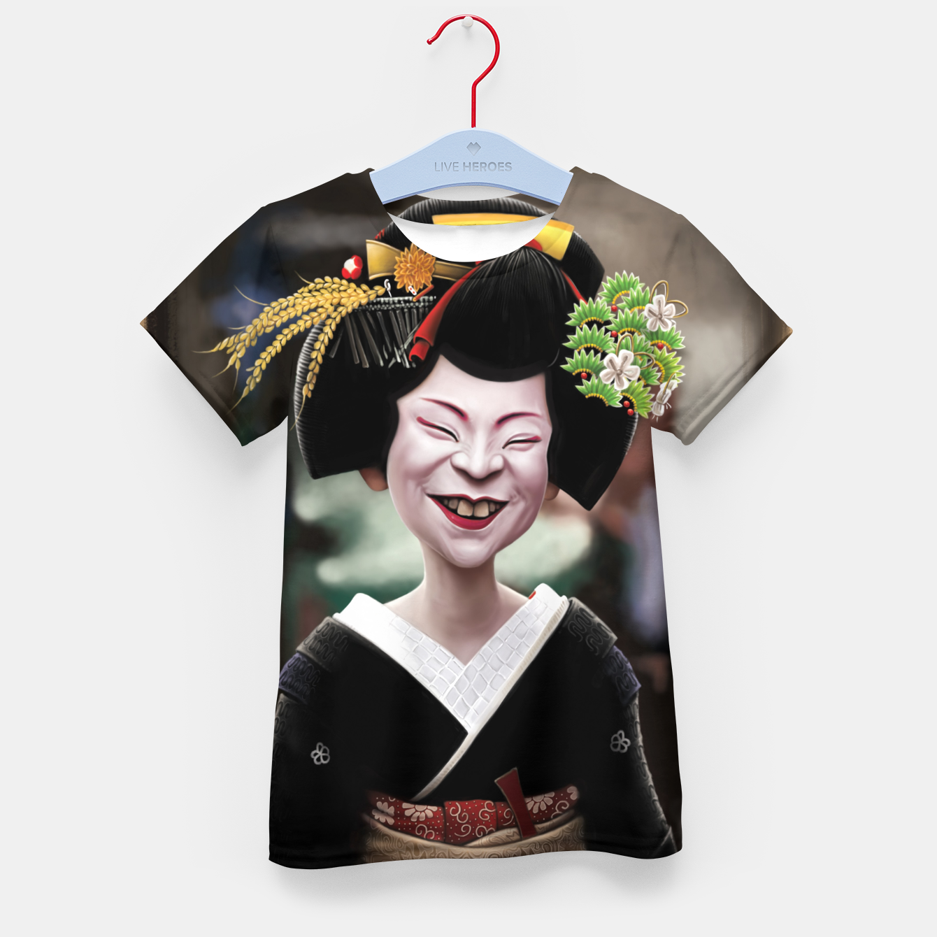 Image of The Ugly Geisha Kid's t-shirt - Live Heroes