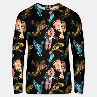 Thumbnail image of Drawing birds in the night Sudadera de algodón, Live Heroes