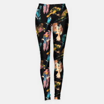 Imagen en miniatura de Drawing birds in the night Leggings, Live Heroes