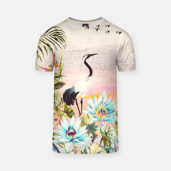 Miniaturka Landscapes of birds in paradise Camiseta, Live Heroes