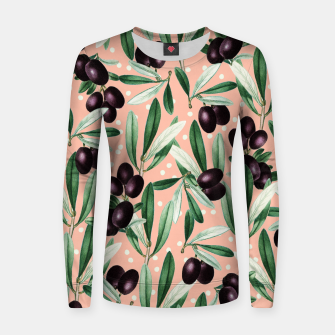 Thumbnail image of Sour Grapes V1 Woman cotton sweater, Live Heroes