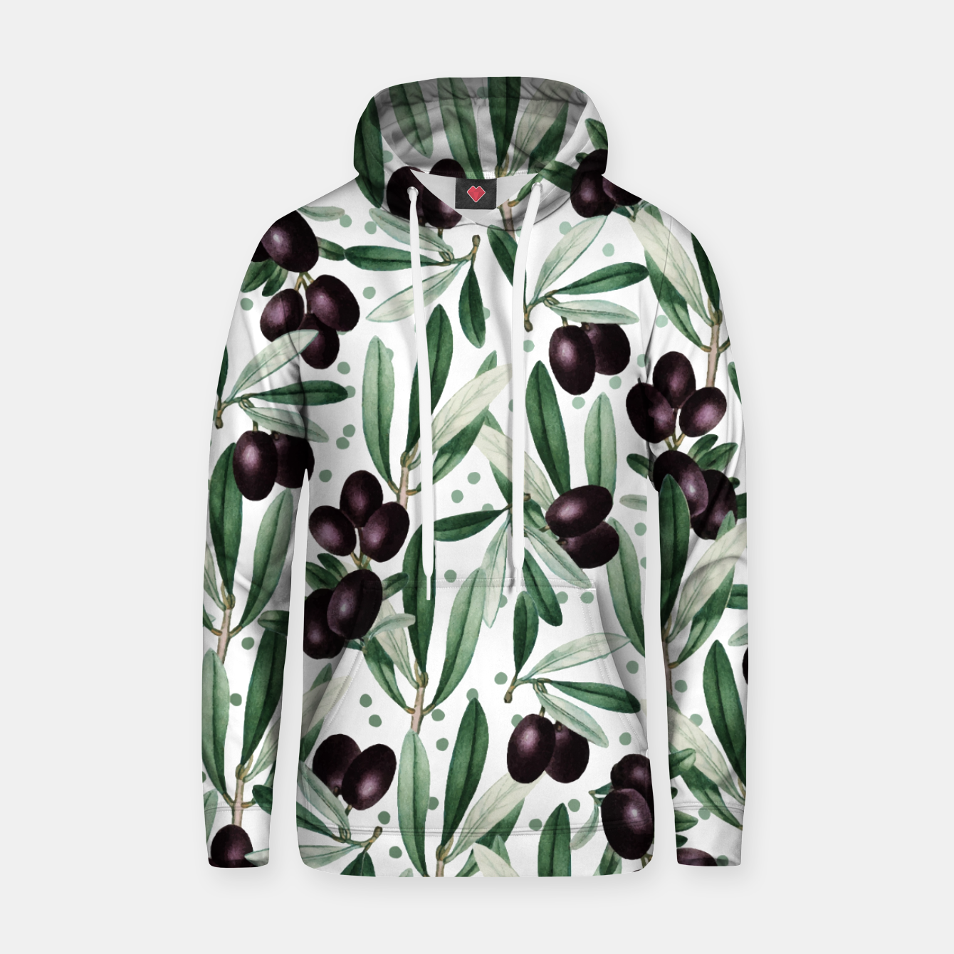 Image of Sour Grapes V2 Cotton hoodie - Live Heroes