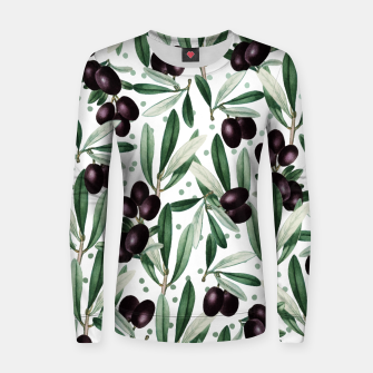 Thumbnail image of Sour Grapes V2 Woman cotton sweater, Live Heroes