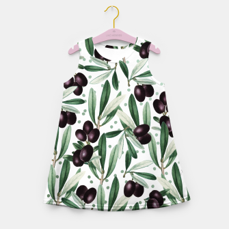 Thumbnail image of Sour Grapes V2 Girl's summer dress, Live Heroes