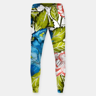 Thumbnail image of Indigo Bloom Cotton sweatpants, Live Heroes