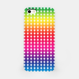 Miniatur Loving Rainbows iPhone Case, Live Heroes