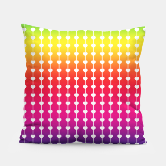 Miniature de image de Loving Rainbows Pillow, Live Heroes