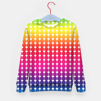 Miniature de image de Loving Rainbows Kid's sweater, Live Heroes