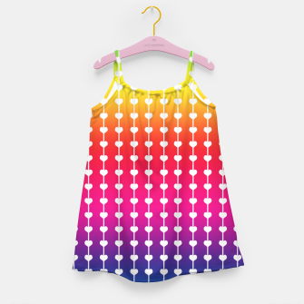 Miniature de image de Loving Rainbows Girl's dress, Live Heroes