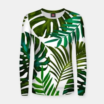 Thumbnail image of Tropical Dream V2 Woman cotton sweater, Live Heroes