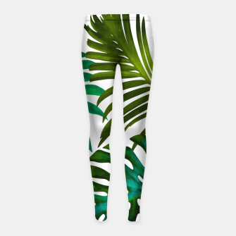 Thumbnail image of Tropical Dream V2 Girl's leggings, Live Heroes