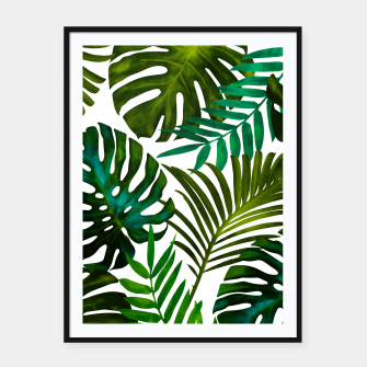 Thumbnail image of Tropical Dream V2 Framed poster, Live Heroes