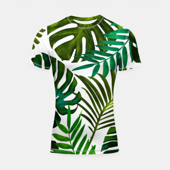 Thumbnail image of Tropical Dream V2 Shortsleeve rashguard, Live Heroes