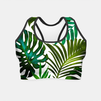 Thumbnail image of Tropical Dream V2 Crop Top, Live Heroes