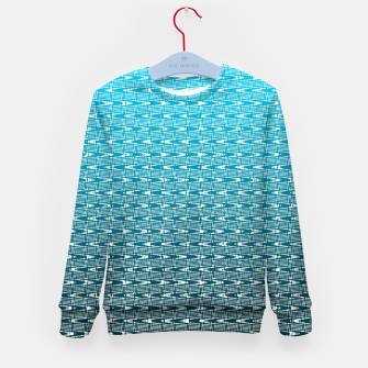 Thumbnail image of Blue Zig Zag Kid's sweater, Live Heroes