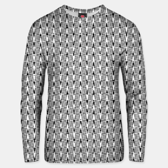 Miniatur Black and White Zig Zag Cotton sweater, Live Heroes