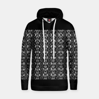 Miniatur B&W Solid Cotton hoodie, Live Heroes