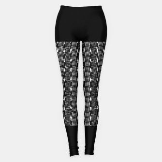 Thumbnail image of B&W Solid Leggings, Live Heroes