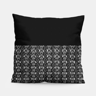 Thumbnail image of B&W Solid Pillow, Live Heroes