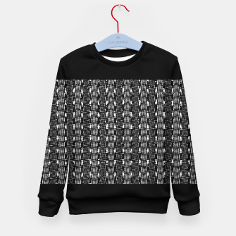 Thumbnail image of B&W Solid Kid's sweater, Live Heroes
