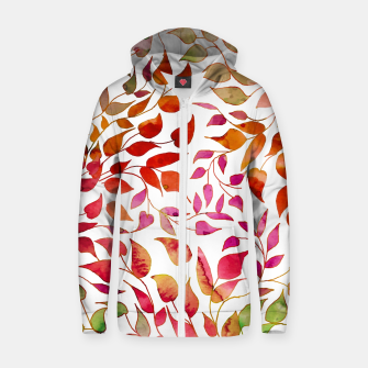 Thumbnail image of Reva Cotton zip up hoodie, Live Heroes