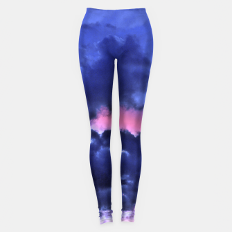 Imagen en miniatura de Clouds - Twilight Summer #1 #sunset #decor #art Leggings, Live Heroes