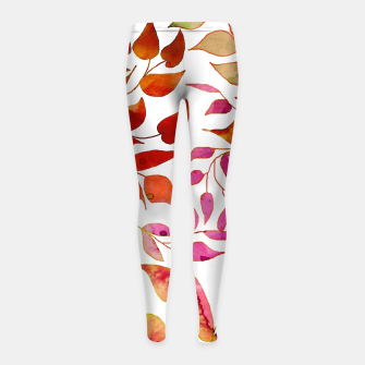 Thumbnail image of Reva Girl's leggings, Live Heroes