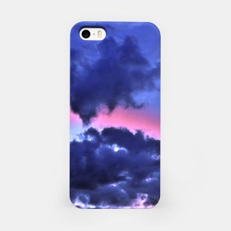 Miniatur Clouds - Twilight Summer #1 #sunset #decor #art iPhone-Hülle, Live Heroes