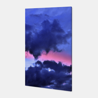 Imagen en miniatura de Clouds - Twilight Summer #1 #sunset #decor #art Canvas, Live Heroes