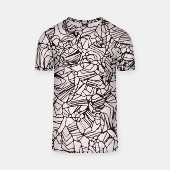 Miniatur Abstract Pattern T-shirt, Live Heroes