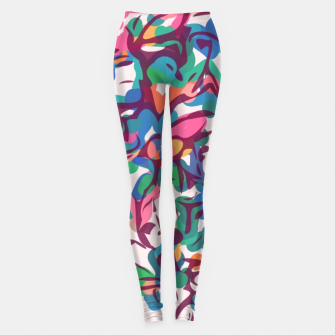 Imagen en miniatura de Colorful Abstract Pattern  Leggings, Live Heroes