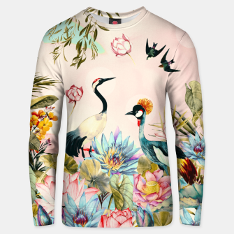 Landscapes of birds in paradise 2 Sudadera de algodón thumbnail image