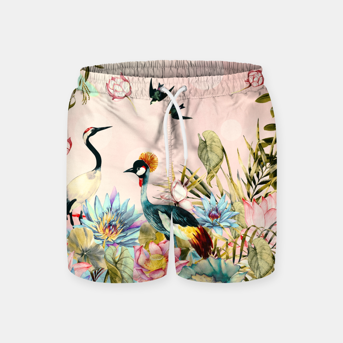 Image of Landscapes of birds in paradise 2 Pantalones de baño - Live Heroes