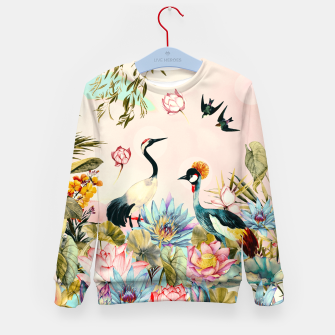 Landscapes of birds in paradise 2 Sudadera para niños thumbnail image